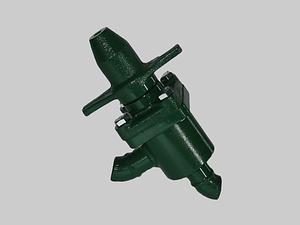 Válvula de paso lineal con capuchón